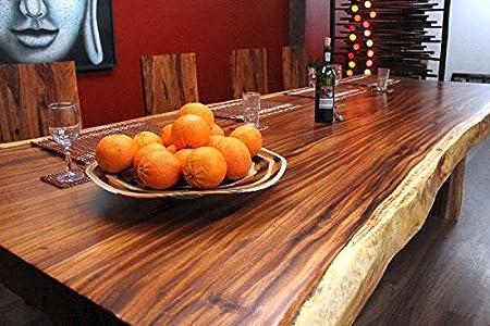 : Esstisch, Tisch, Suar, Holz, Massiv, Tischplatte