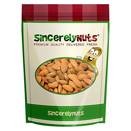 Sincerely Nuts Raw Pecans No Shell - Five Lb. Bag - Eaten Fresh -Remarkably Delicious & Cute-Looking - Rich in Healthy Nutrients - Kosher