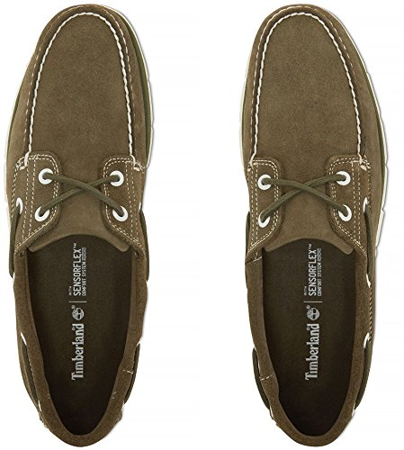 2 Suede Eye L A1TDE W Tidelands 5 Green Timberland US8 Dk CtwSqA