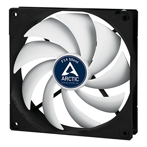 Arctic F14 Silent - Ultra-Quiet 140 mm Case Fan | Silent Cooler with Standard Case | Almost inaudible | Push- or Pull Configuration Possible by ARCTIC (Image #8)
