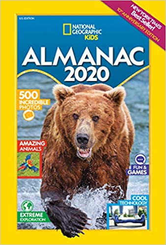 Nyt Best Sellers 2020 National Geographic Kids Almanac 2020 (National Geographic