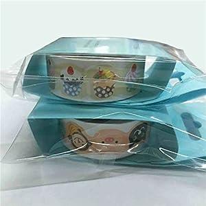 VIPASNAM-Cartoon Animals Ice Cream Daily Scrapbook Decorative Washi tape Self Adhesive(random color)