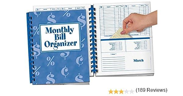 Amazon WalterDrake Monthly Bill Organizer Personal – Bill Organizer