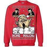Memetic Ugly Christmas Sweater Home Malone Unisex Sweatshirt
