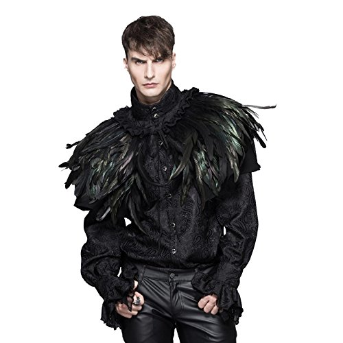 Feather Cape Costume (Unisex Feather Shoulder Cover (One Size))
