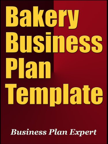 AmazonCom Bakery Business Plan Template Including  Free Bonuses