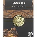 Chaga Tea - Powerful Antioxidants, Wild Harvested, Caffeine-Free - 18 Bleach-Free Tea Bags