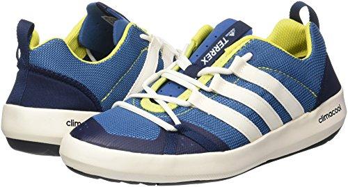 Adidas Terrex CC Boat, Chaussures de Randonnée Basses Homme, Bleu (Core Blue/Chalk White/Bright Yellow), 37 EU
