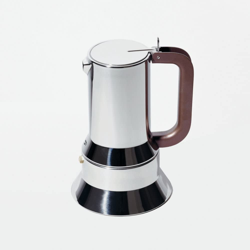 Cafetera expreso de acero inoxidable Alessi 9090/6 FM: Richard Sapper: Amazon.es: Hogar