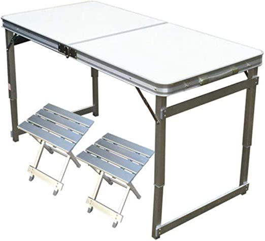 DX Mesa Plegable Mesa de Comedor portátil portátil Simple Oficina ...