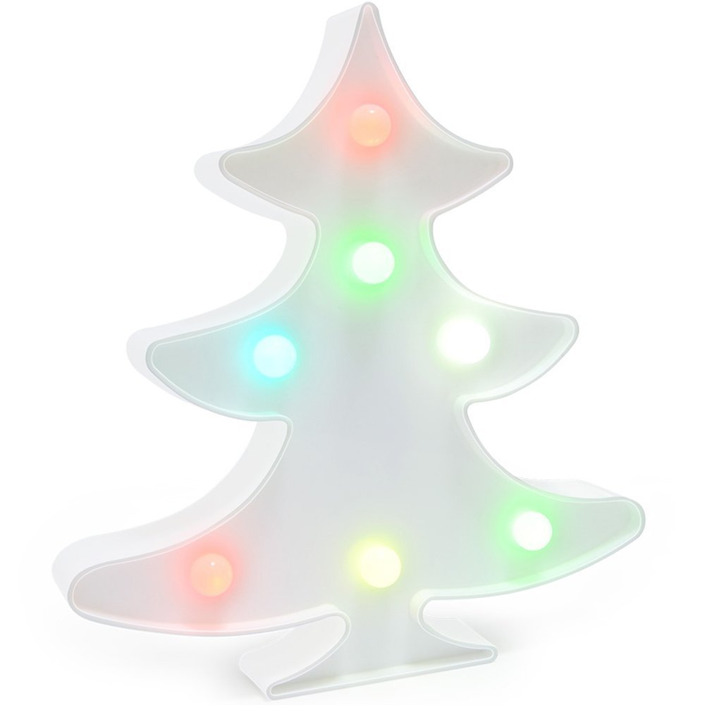 Christmas Tree Light Christmas Tree Party Supplies Kids Christmas Tree Colorful Christmas Tree Lamp Battery Operated Christmas Tree Table Decorations for Wall Decoration,Kids (Colorful Christmas Tree)