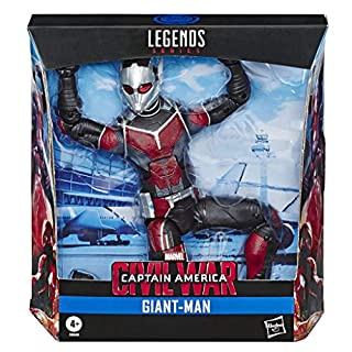 "Hasbro Marvel Legends Series Build-A-Figure Deluxe 6"" Scale Collectible Action Figure Giant-Man Toy, Premium Design, for Kids Ages 4 & Up"