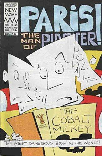 - Paris the Man of Plaster #5 VG ; Harrier comic book