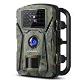 APEMAN Trail Camera 12MP 1080P Wildlife Camera with 26Pcs 940nm IR LEDs IP66 Spray Waterproof Hunting Camera for Outdoor Nature, Garden, Home Security Surveillance