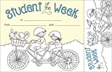 Barker Creek Color Me Student of The Week Awards & Bookmarks Set (BC430)