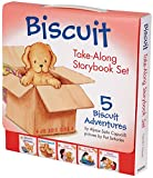 img - for Biscuit Take-Along Storybook Set: 5 Biscuit Adventures book / textbook / text book
