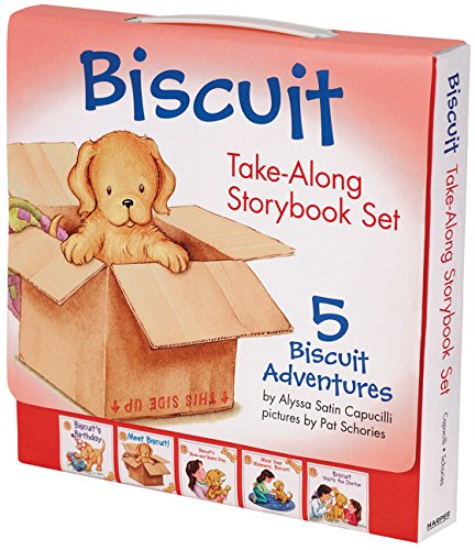 Biscuit Take-Along Storybook Set: 5 Biscuit Adventures