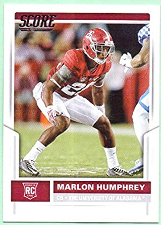 Marlon Humphrey 2017 Score Rookie  409 - Baltimore Ravens 22dbeffd5