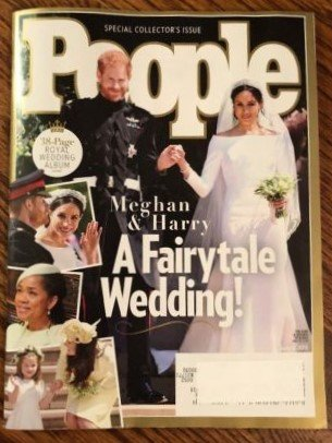 People Magazine  June 4  2018  Special Commemorative Issue Meghan   Harry A Fairytale Wedding