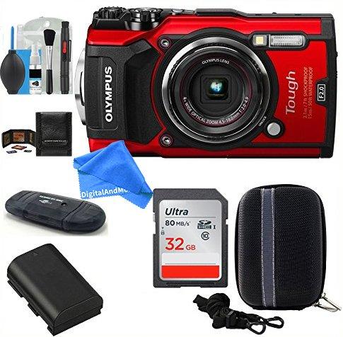 Olympus Stylus TOUGH TG-5 Digital Camera  Bundle includes; 3