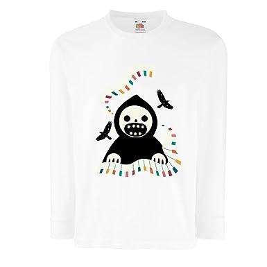 20021dd891a63 lepni.me T-Shirt pour Enfants avec des Manches Longues Halloween Horror  Nights -