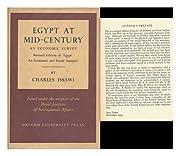 Egypt At Mid-Century, an Economic Survey.…