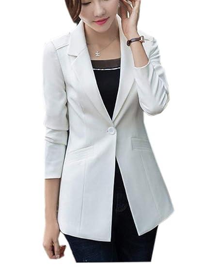 Costume Femme Printemps Automne Oversize Affaires Blazer