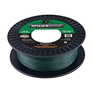 Spiderwire Scsm6G Smooth Stealth Fishing Bait, Moss Green, 125 yd