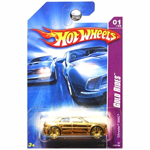 Hot Wheels 2007 Gold Rides Chrysler 300 300C Gold Foil