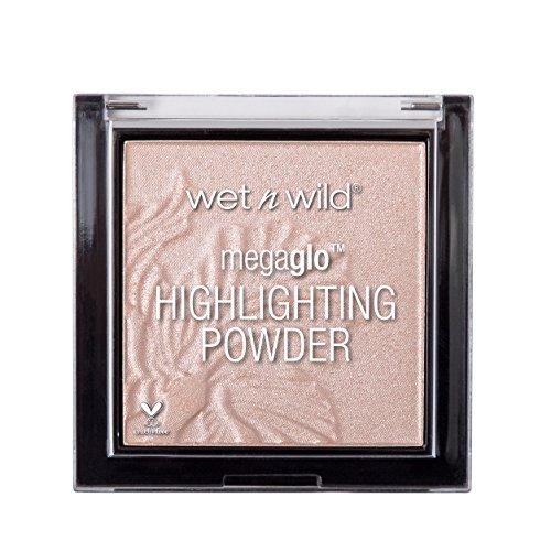Wet N Wild Highlighter – MegaGlo Highlighting Powder mit hochpigmentierter Formel, Blossom Glow, 1 Stück, 5,4g