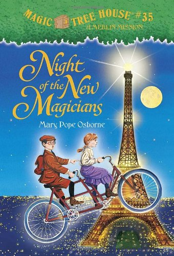 """Night of the New Magicians - Book #7 of the Magic Tree House """"Merlin Missions"""""""