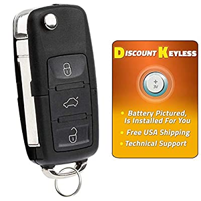 Discount Keyless Replacement Uncut Car Remote Fob Key For Volkswagen Passat Jetta Golf Cabrio HLO1J0959753AM: Automotive