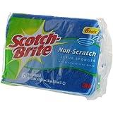 Scotch-Brite Non-Scratch Multi-Purpose Scrub Sponge, 6 Ea