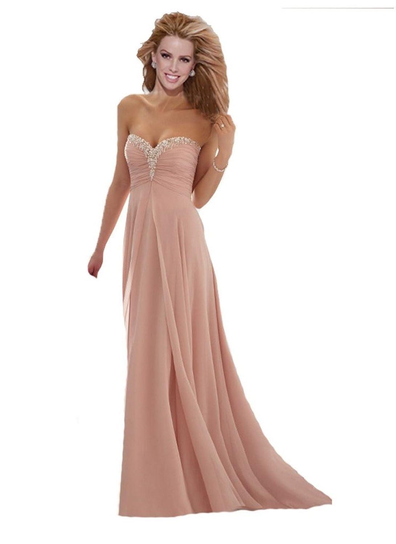 WAJY Women's Sweetheart Long Prom Dresses