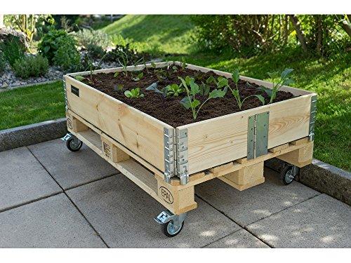 Schroth Hochbeet Rahmen Faltbar 120 X 80 X 20 Cm Amazon De Garten