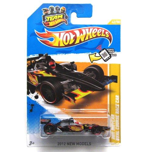 Hot Wheels - 2012 IndyCar Oval Course Race Car 42/247 - BLACK ()