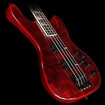 Jackson CBXNT IV Concert Bass - Trans Red