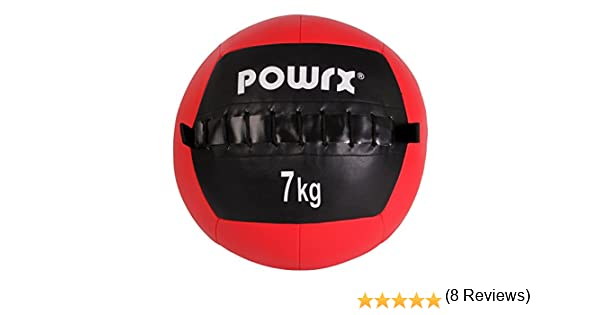 Balón medicinal Wall Ball, 1-10 kg, 7 kg / Rot: Amazon.es ...