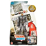DC Justice League Talking Heroes Cyborg Figure, 6