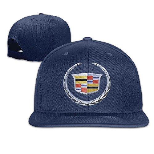 maneg-cadillac-logo-unisex-fashion-cool-adjustable-snapback-baseball-cap-hat-one-size-navy