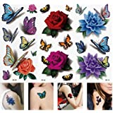 V D Sales™, ( Pack Of 5) Designer ,Beautiful Temporary Tattoos