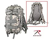 ACU Digital Camouflage Military MOLLE Medium Transport Backpack, Bags Central
