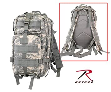Amazon.com  ACU Digital Camouflage Military MOLLE Medium Transport ... bc1d16aa0a