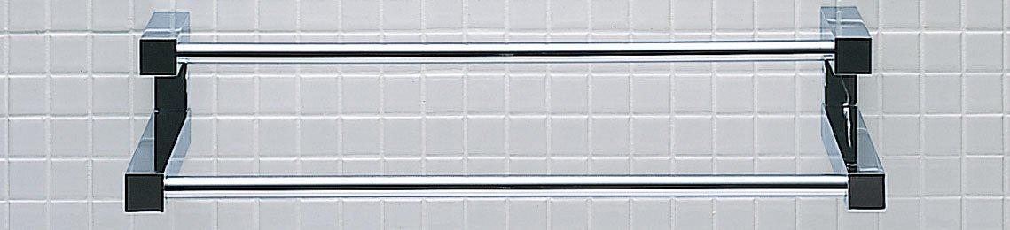 LIXIL(リクシル) INAX 2段式タオル掛 TFシリーズ 612×130×80 FKF-12WF/C B00DQ3WC6I