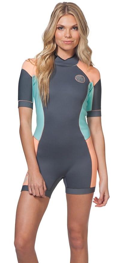 Amazon.com   Rip Curl Women s Dawn Patrol Short Sleeve Spring Suit ... d61434d34