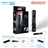 IMALENT DM21T 1000 Lumens XP-L HI LED Multi-factional Tactical White Flashlight IPX-8 Waterproof built-in USB charger interface comes with one 2600mAh rechargeable battery Review