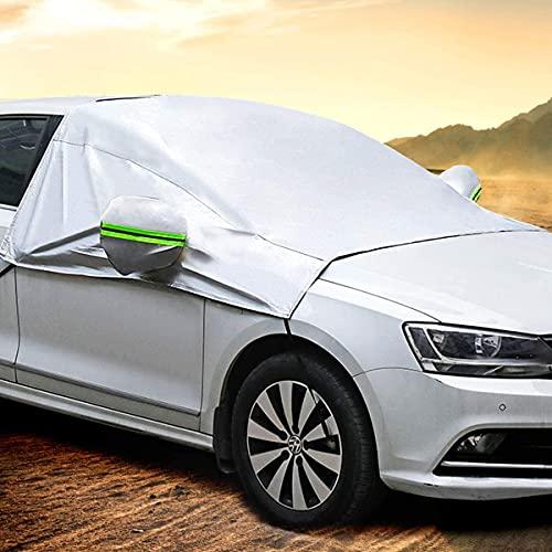 MATCC Voorruitafdekking auto Voorruitafdekking Winterbescherming Opvouwbare Afneembare Auto Afdekking Winterafdekking…