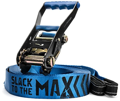 Slack to the Max 50-Feet Classic Slackline by Slack to the Max