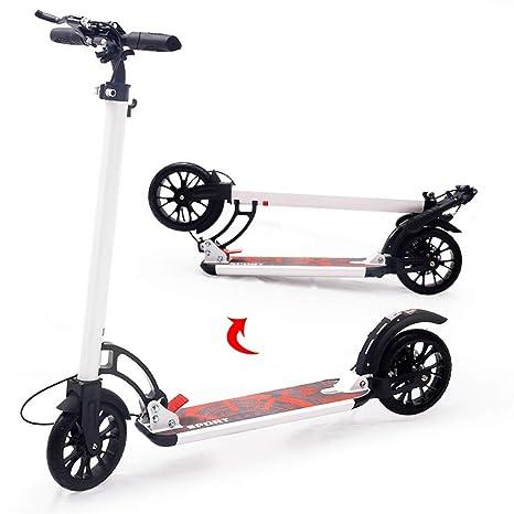 Scooter Patinete Kick para Adultos con 2 Ruedas Grandes de ...