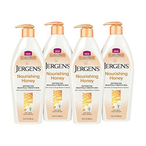 Jergens Nourishing Honey Dry Skin Moisturizer, 16.8 Ounces